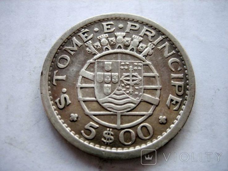 Португальська монета 1951 року., фото №2