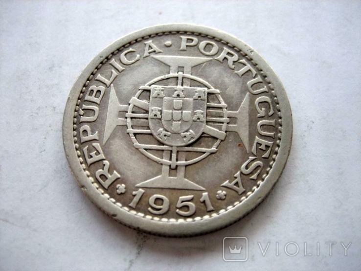 Португальська монета 1951 року., фото №7