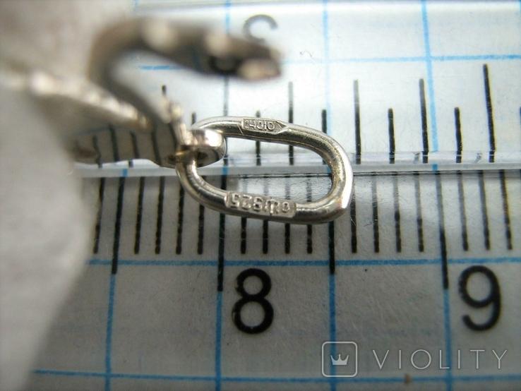 Серебряный Кулон Подвеска Скорпион Знак Зодиака Талисман Символ Серебро 925 проба 486, фото №5