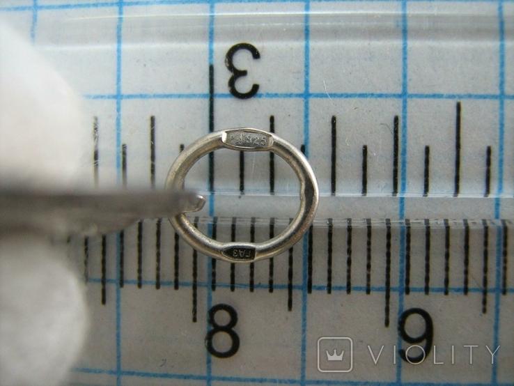 Серебряный Кулон Подвеска Образок Ладанка Богородица Умиление Серебро 925 проба 765, фото №5