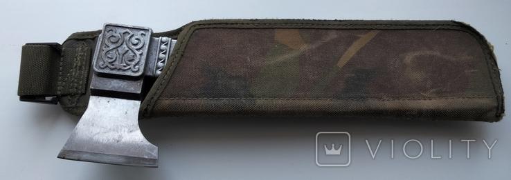 Сувенирный разделочный кухонный топорик(СССР), фото №3