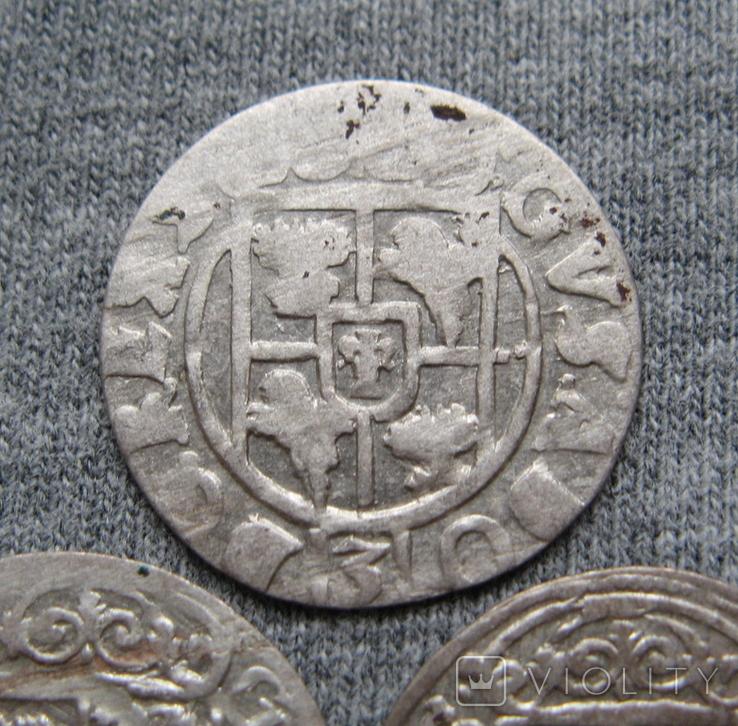 1/24 талера 1600-х годов. Густав Адольф. Швеция и Эльбинг ( 3 штуки )., фото №9