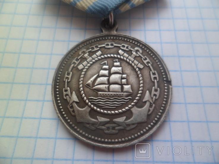 Медаль Адмирал Нахимов Копия, фото №6