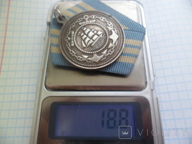 Медаль Адмирал Нахимов Копия, фото №8