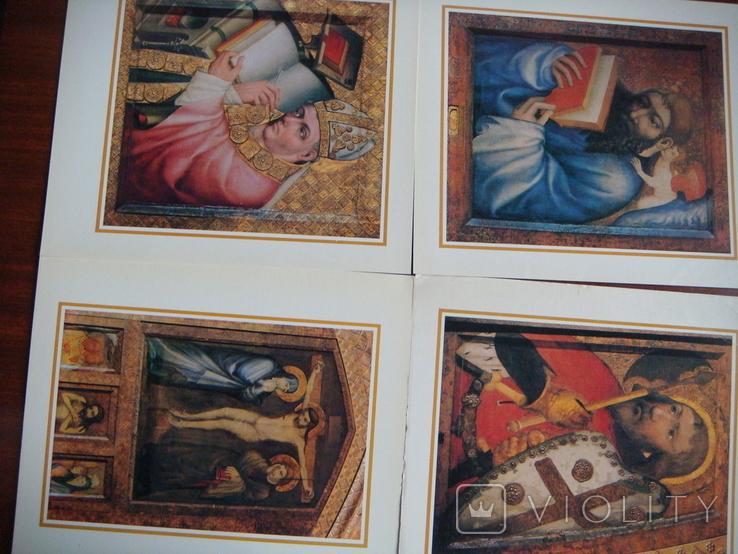Набор открыток Чехия.Мастер Теодорих.12 шт., фото №5
