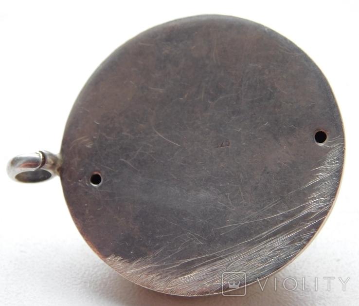 Большой кулон с камнем, фото №5