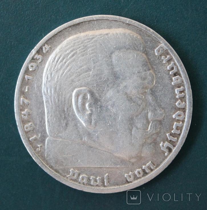 5 марок 1936(J), фото №2