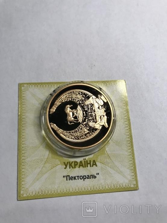 """100 гривень 2003 року, """"Пектораль"""", proof, сертифікат, фото №3"""