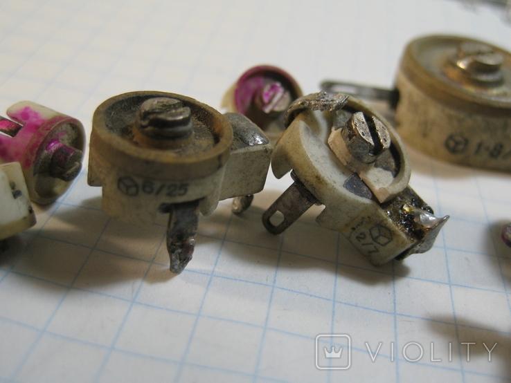 Конденсаторы подстроечные 11 шт, фото №3