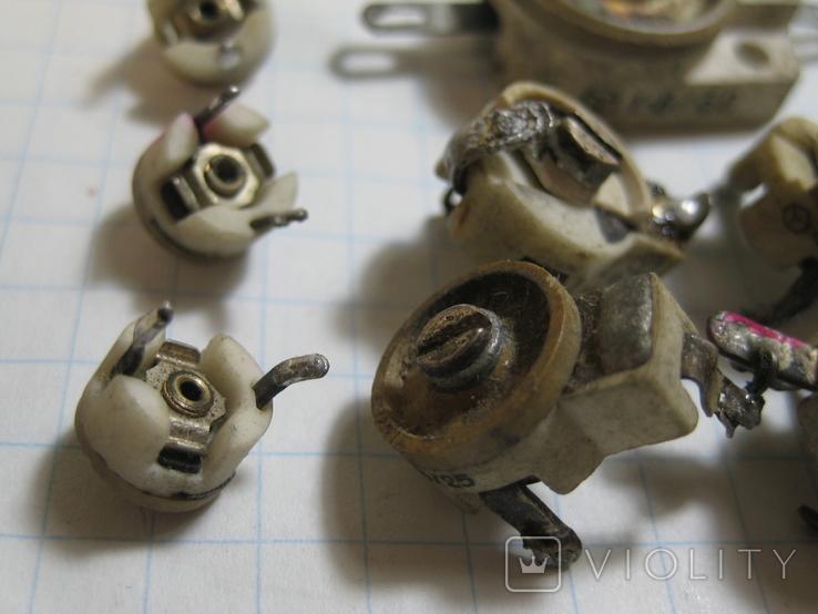 Конденсаторы подстроечные 11 шт, фото №4