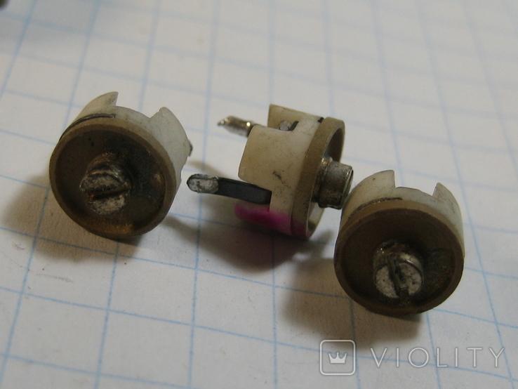 Конденсаторы подстроечные 11 шт, фото №7