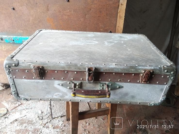 Чемодан солдатский алюминиевый, фото №2
