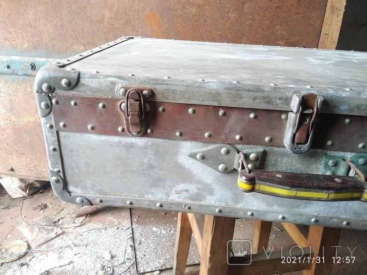 Чемодан солдатский алюминиевый, фото №3
