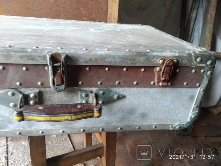 Чемодан солдатский алюминиевый, фото №4