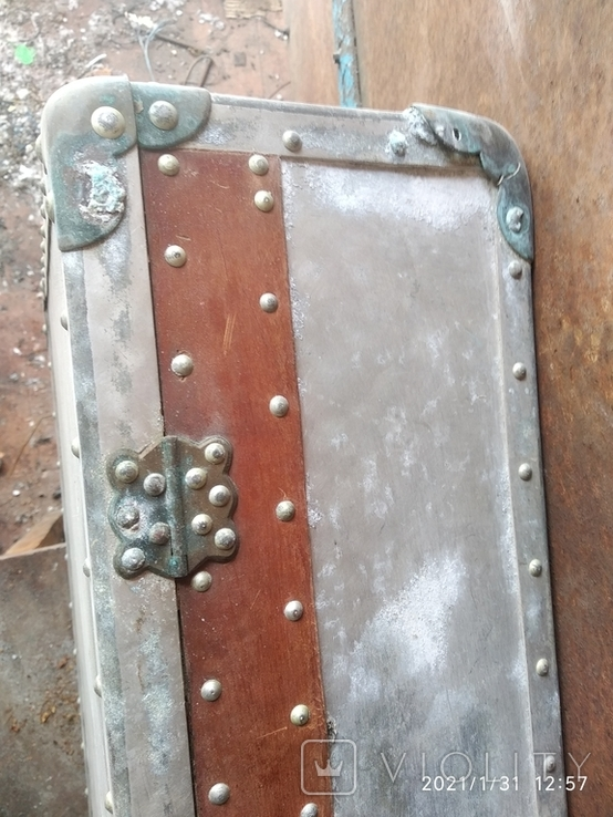 Чемодан солдатский алюминиевый, фото №7