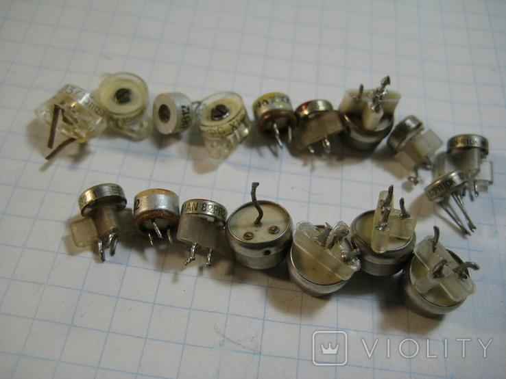 Конденсаторы подстроечные переменные, фото №2