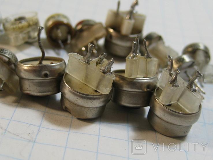 Конденсаторы подстроечные переменные, фото №8