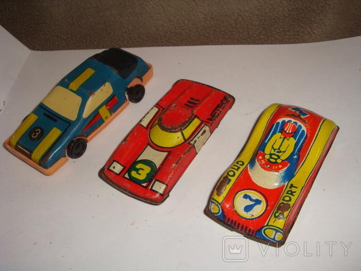 Машинки гоночные 7 шт., фото №3