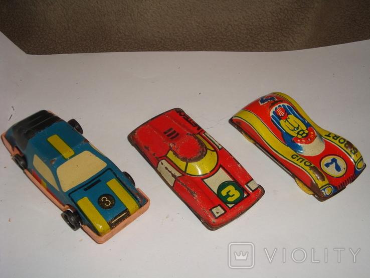 Машинки гоночные 7 шт., фото №4
