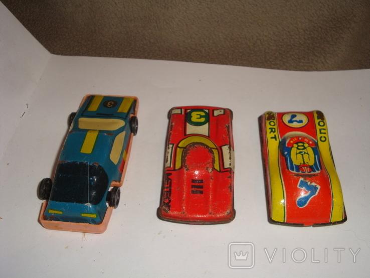 Машинки гоночные 7 шт., фото №5