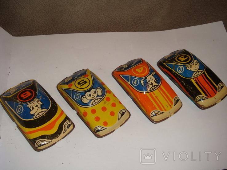 Машинки гоночные 7 шт., фото №8