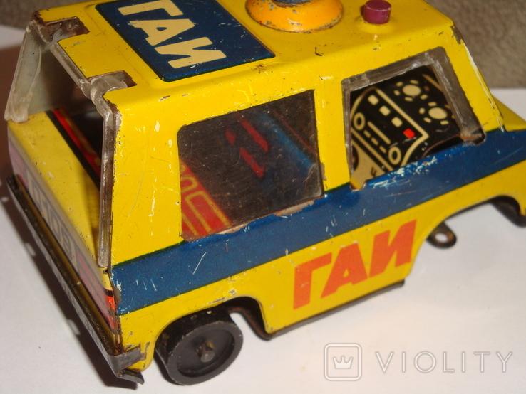 Жестяная машинка ГАИ, фото №12