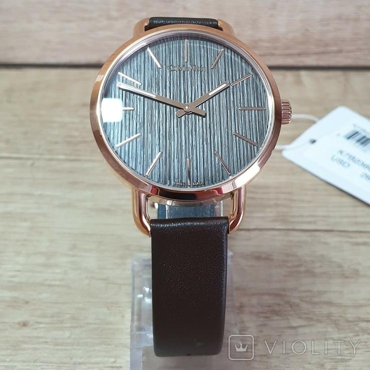 Новые женские часы Calvin Klein k7b236g3. Оригинал из США, фото №3