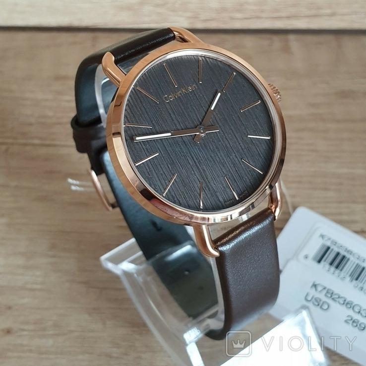 Новые женские часы Calvin Klein k7b236g3. Оригинал из США, фото №2