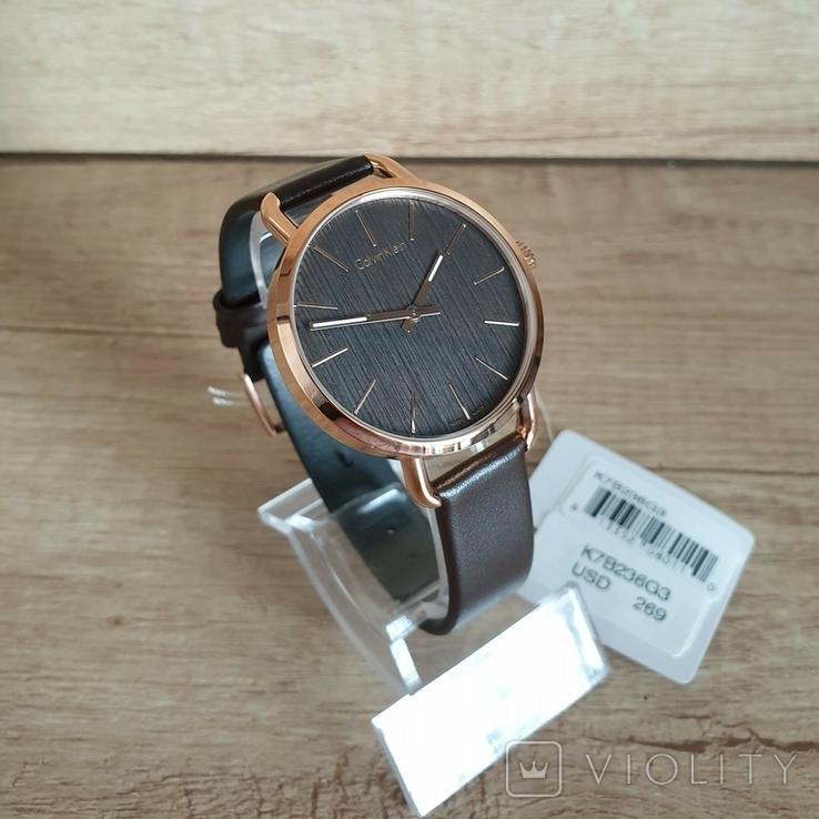 Новые женские часы Calvin Klein k7b236g3. Оригинал из США, фото №6
