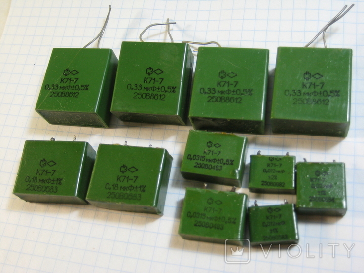 К71-7 конденсаторы, фото №2
