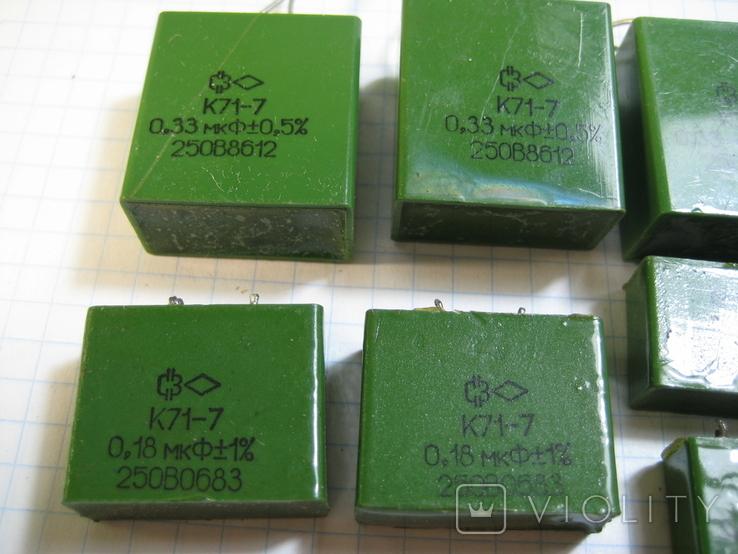 К71-7 конденсаторы, фото №3