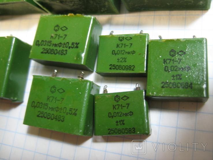 К71-7 конденсаторы, фото №5