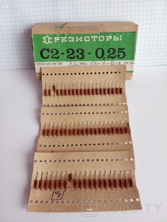 Резистори 2,2 кОм (60 шт.), фото №3