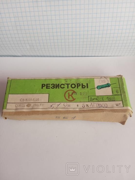 Резистори 5,1 Ом, фото №2