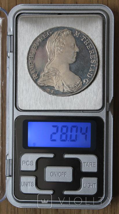 1 талер 1780 Марии Терезии, Proof, фото №5