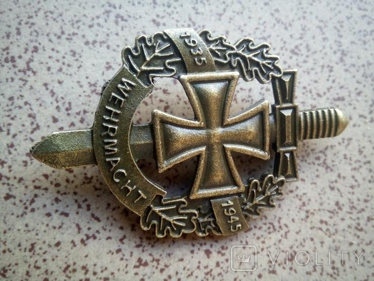 Значок III рейх, Wehrmacht (реплика), фото №2