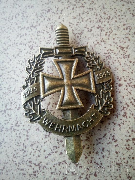 Значок III рейх, Wehrmacht (реплика), фото №3
