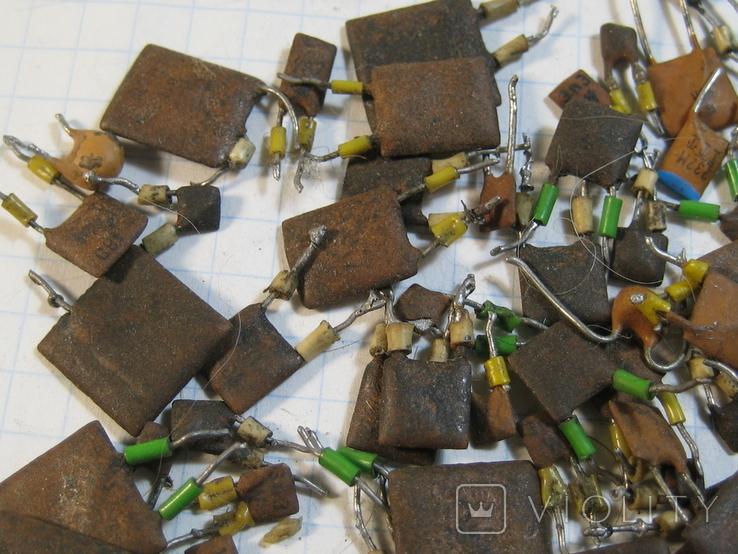 Конденсаторы коричневые 37,2 г, фото №3