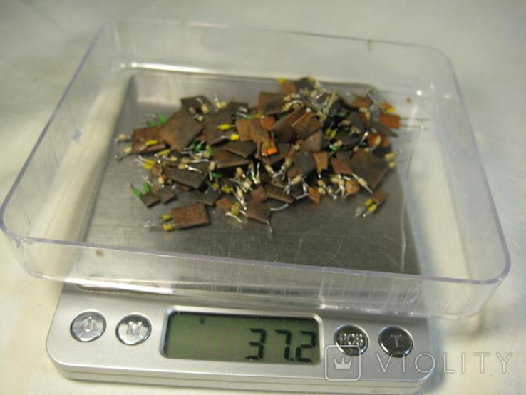 Конденсаторы коричневые 37,2 г, фото №10