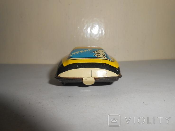 Машинка Стрела Детская игрушка СССР, фото №7