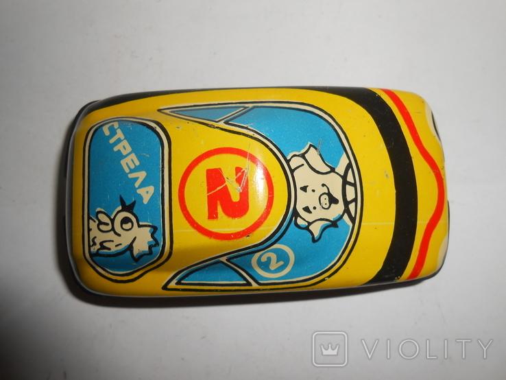 Машинка Стрела Детская игрушка СССР, фото №8