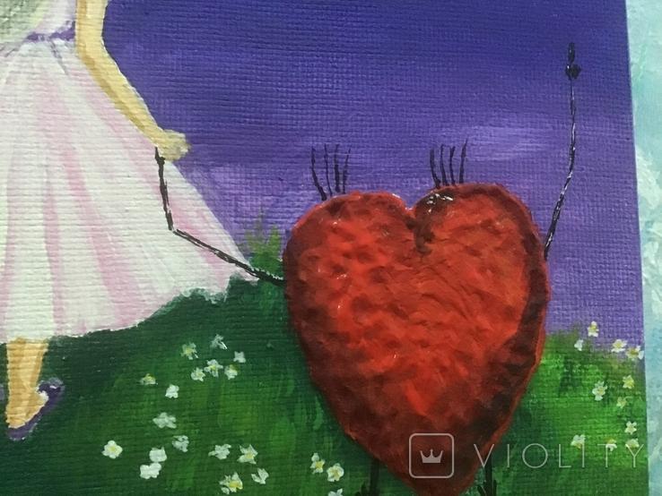 Интерьерная картина От сердца к сердцу, фото №3