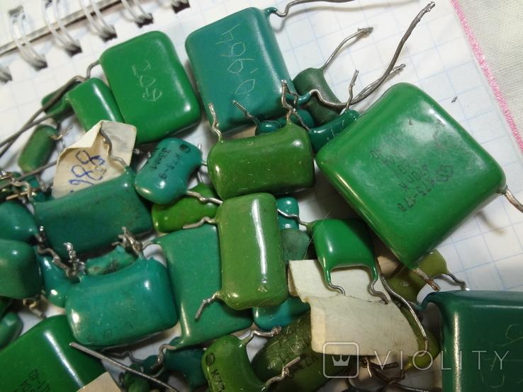Конденсаторы зеленые 176,3 г, фото №6