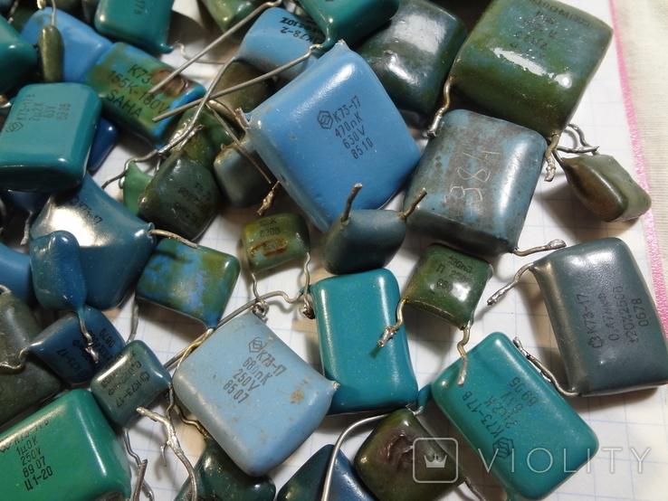 Конденсаторы синие 276,7 г, фото №6