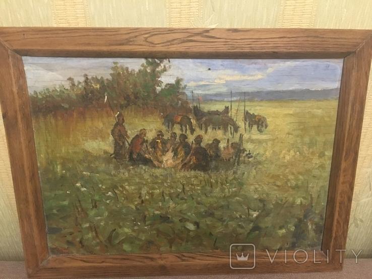 Картина Козаки на привалі, фото №2