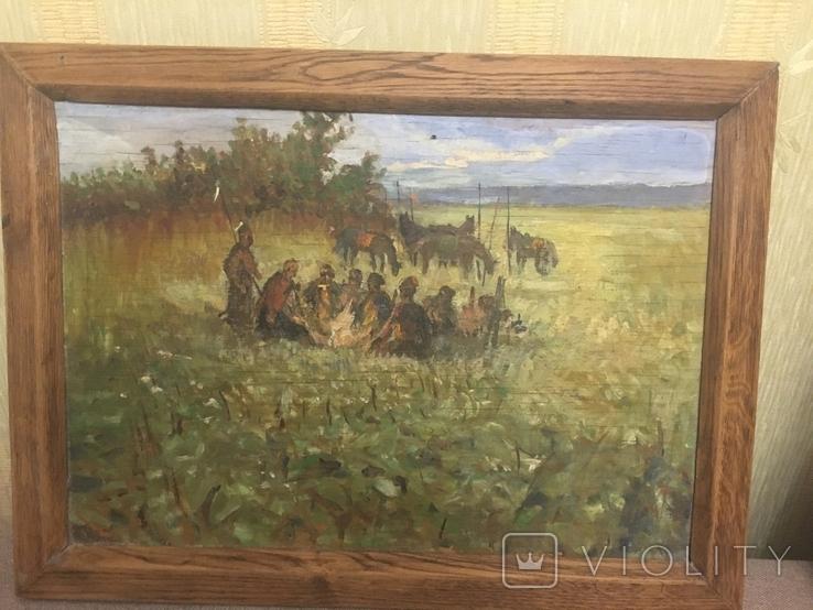 Картина Козаки на привалі, фото №7