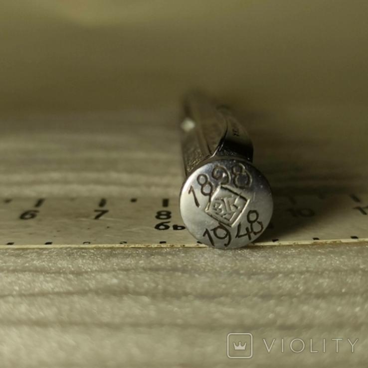 Авторучка металлическая, клеймо з-д им. Кирова. Надписи., фото №12