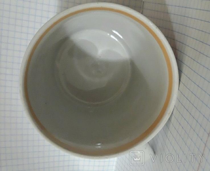 Чашка петух и курочка Довбыш СССР, фото №5