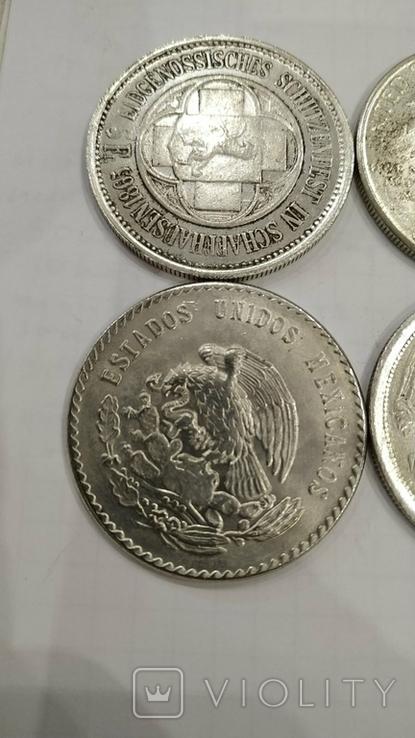 Копии иностранных монет 4шт. (2)., фото №4