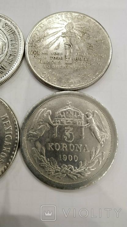Копии иностранных монет 4шт. (2)., фото №11
